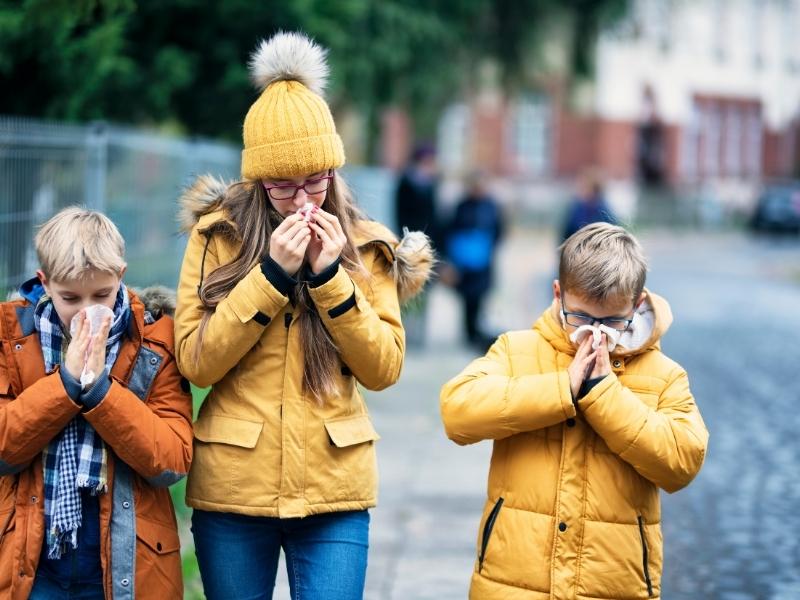 Чи добре ви захистили дитину від ГРВІ та грипу? 12 підказок для батьків