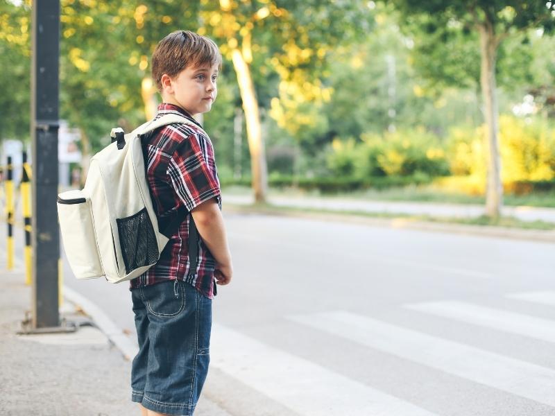Як навчити дитину обережної поведінки на дорозі