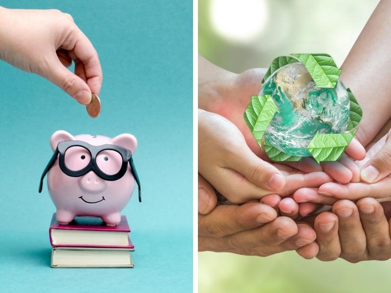 Як навчити дитину бути економною й водночас берегти довкілля