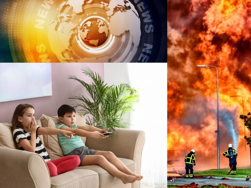 Захистіть дітей від страшних новин