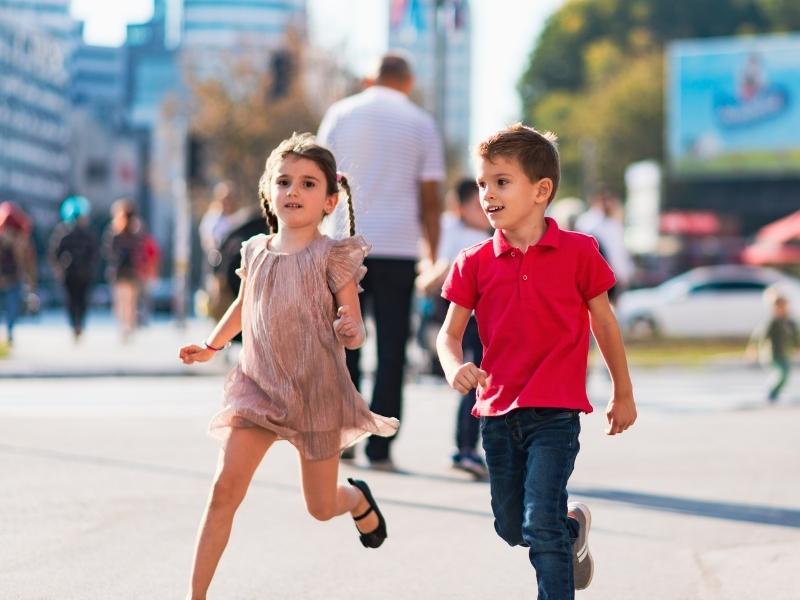 Навчіть дитину орієнтуватися в місті